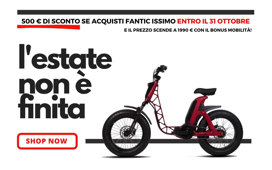 A never-ending summer with with Fantic ISSIMO