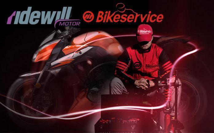 BikeService tools for motorbike workshop