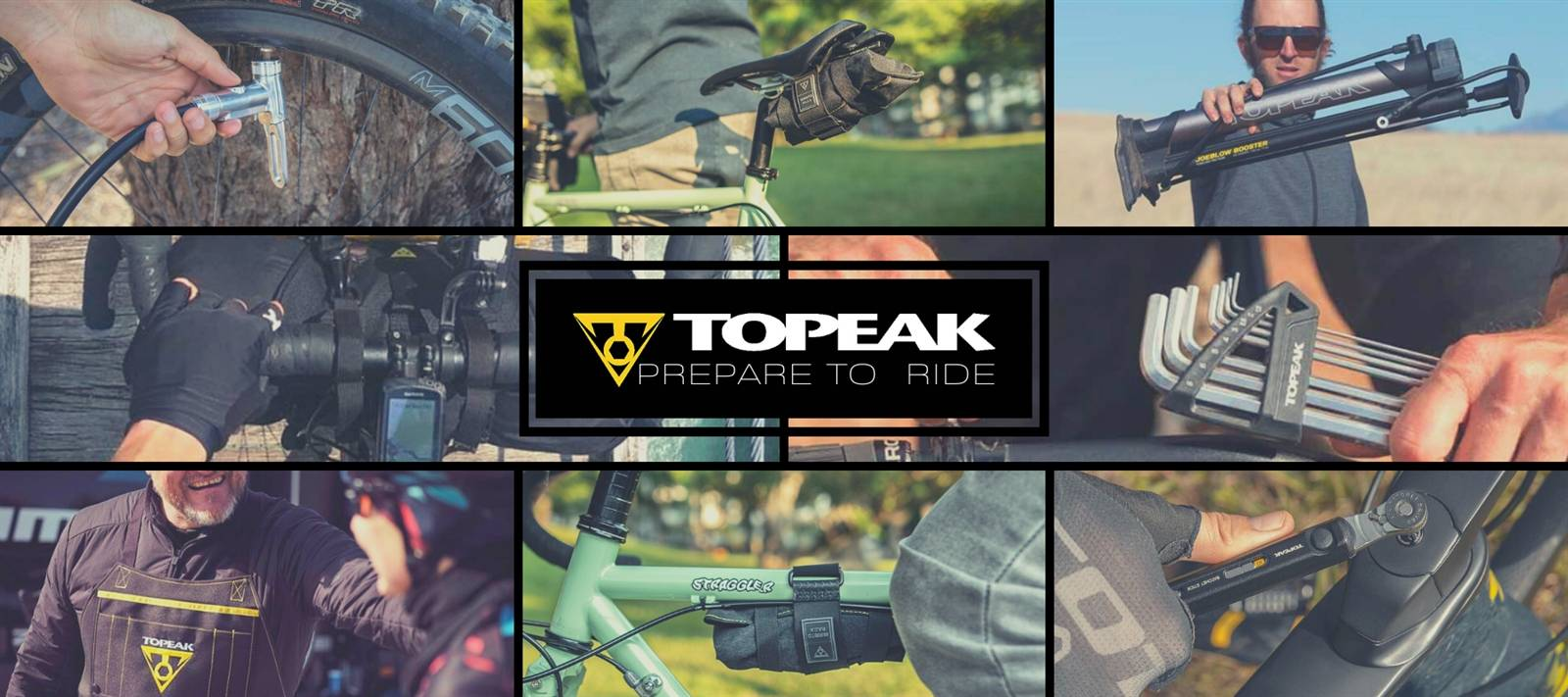 New year? New gear! Welcome Topeak.