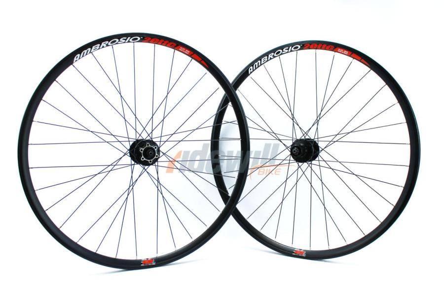 Ambrosio DUETTO Plus 29er - pair mtb wheel disc