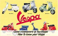 How to know your Vespa Piaggio