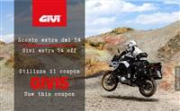 -5% EXTA OFF on GIVI brand!