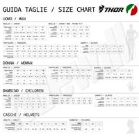 Size chart brand Thor