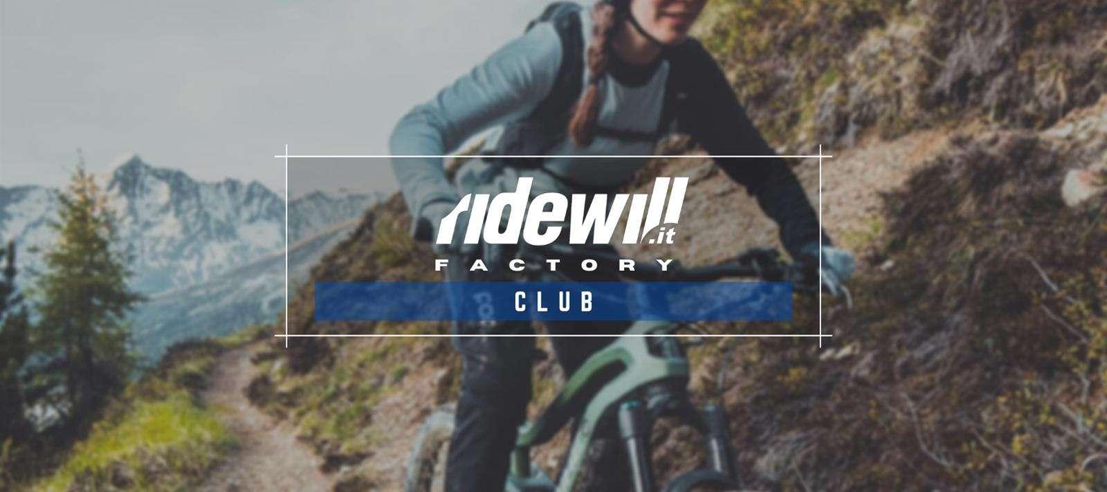 Ridewill Factory Club - Il club esclusivo dedicato alle e-Bike che hai sempre sognato!