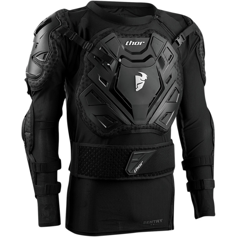 Sentry Xp Body Armour Black Size S/M Bike