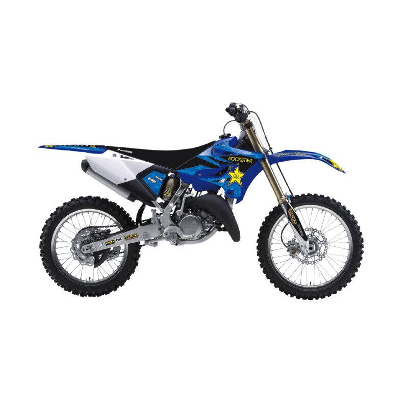 Kit Completo Coprisella + Adesivi Rockstar Energy Yamaha