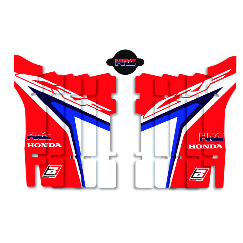 Radiator Louver Sticker Replica Team HRC 2019 Honda CRF 450 R / CRF 450 X Enduro