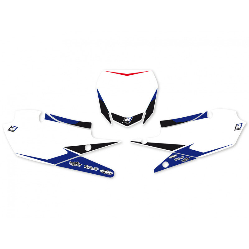 Pre-cut Number Plate with Graphics Yamaha YZ 450 F / YZ 250 F