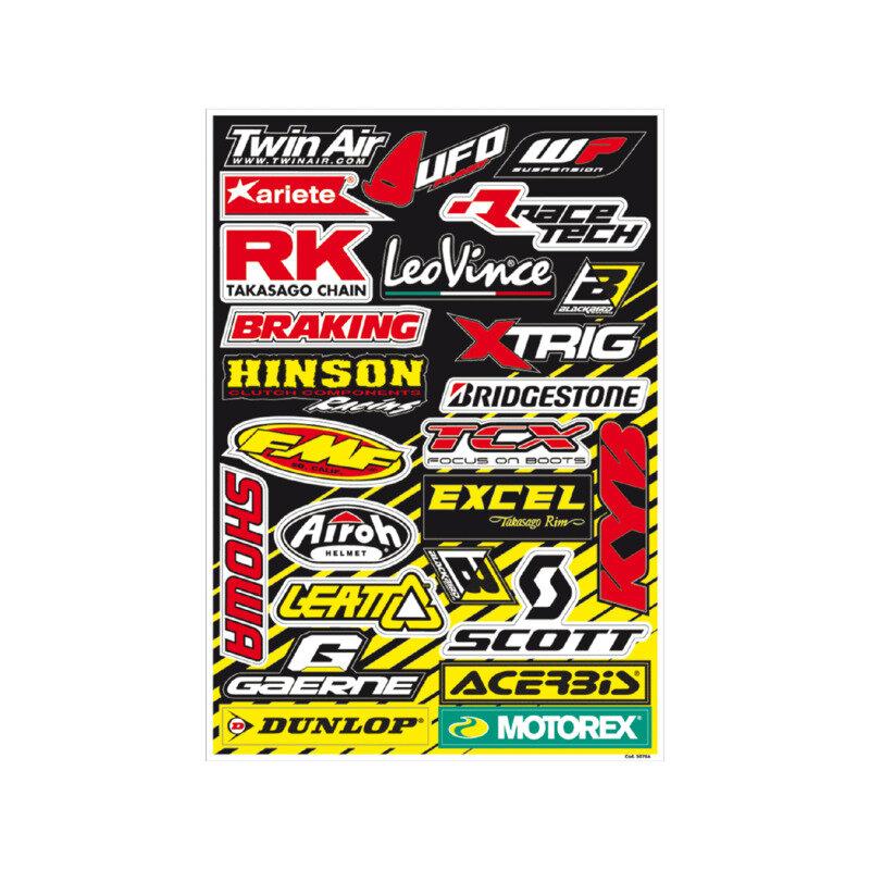 Sticker sheets PVC - A