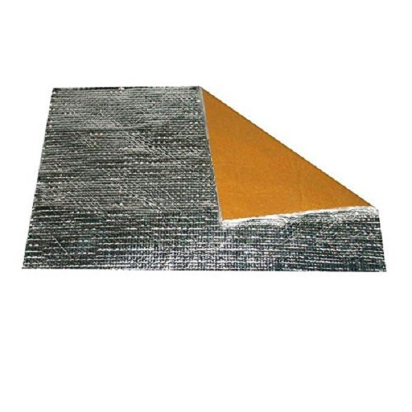 Insulating material covered  280 x 210 mm, thickness 0.4 mm