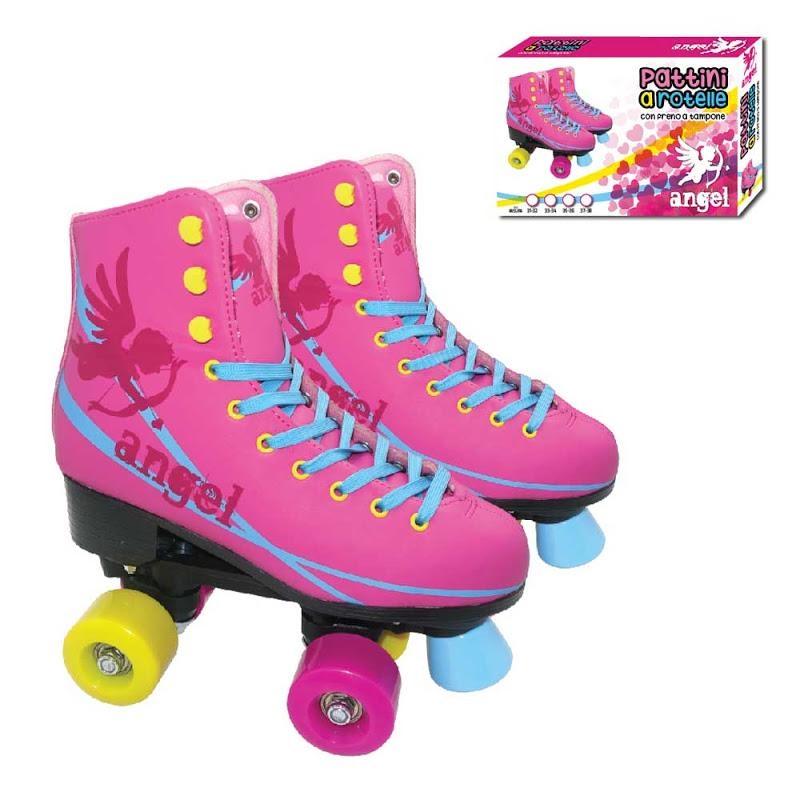 Roller skates 4 wheels Angel Size 35-36 ABEC 5