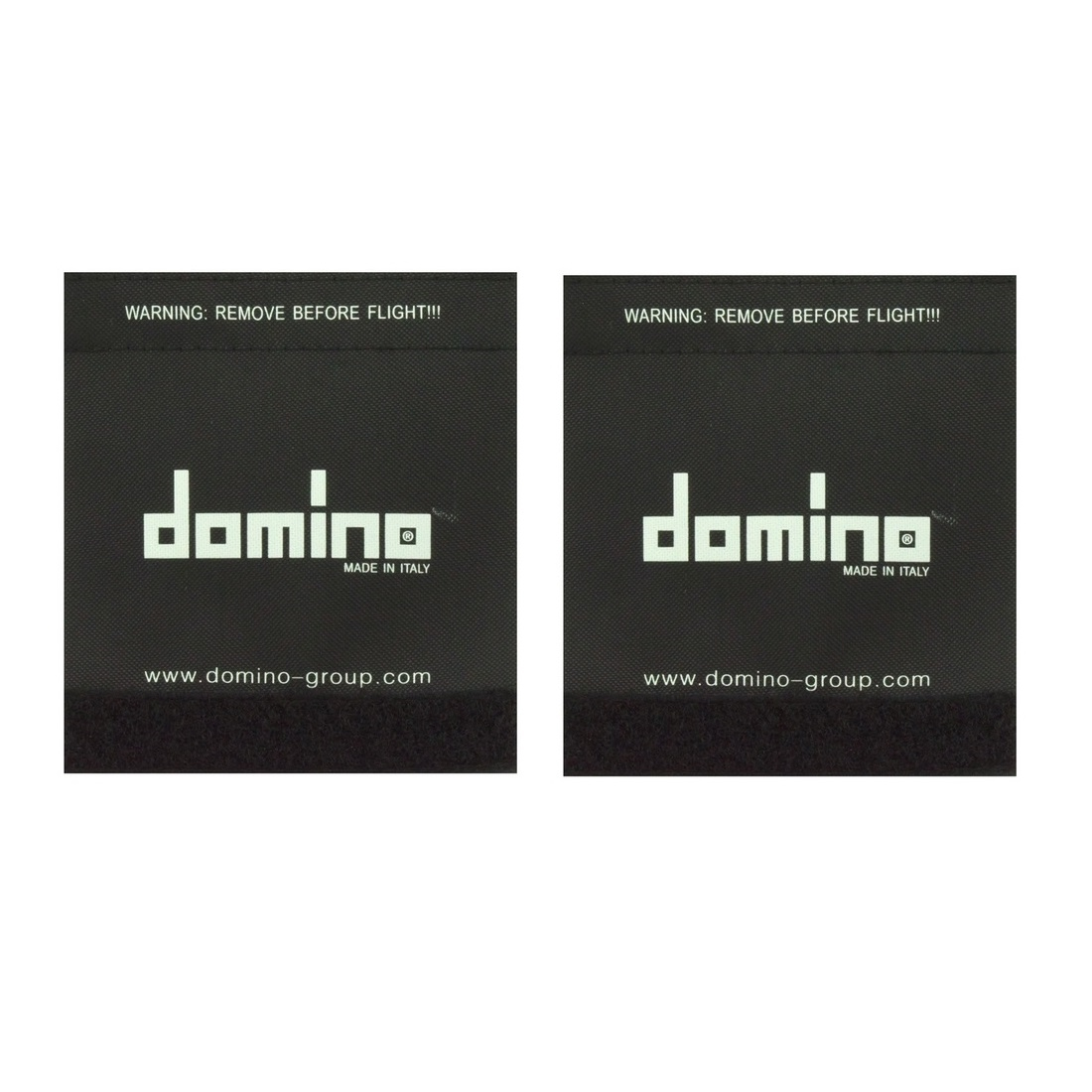 Pair of grips cover domino marked black