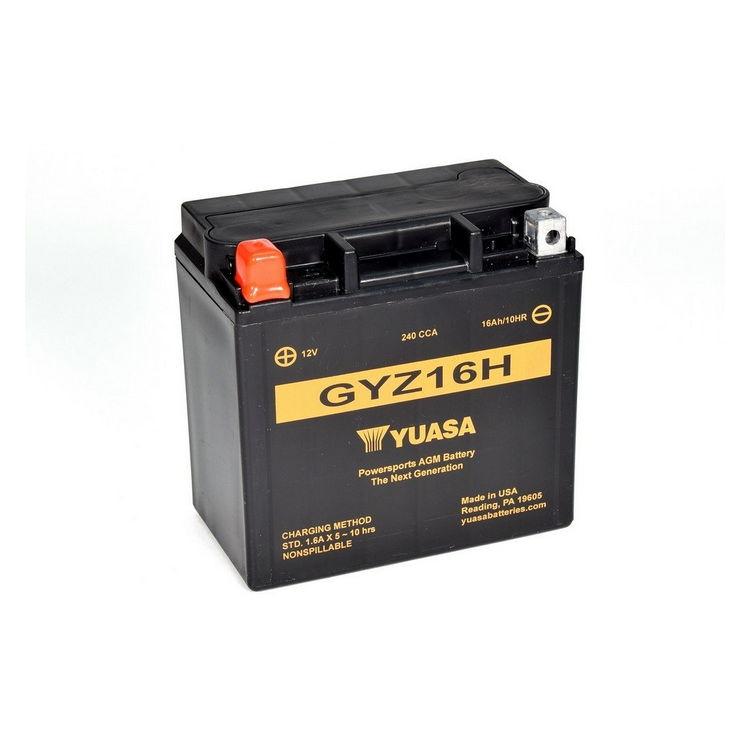 GYZ16H - Batteria Senza Manutenzione ad elevate prestazioni equivalente YTX14-BS