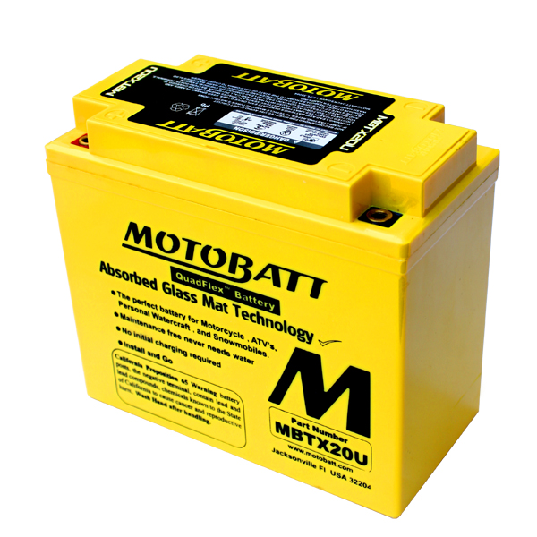 Batteria MBTX20U sigillata precaricata