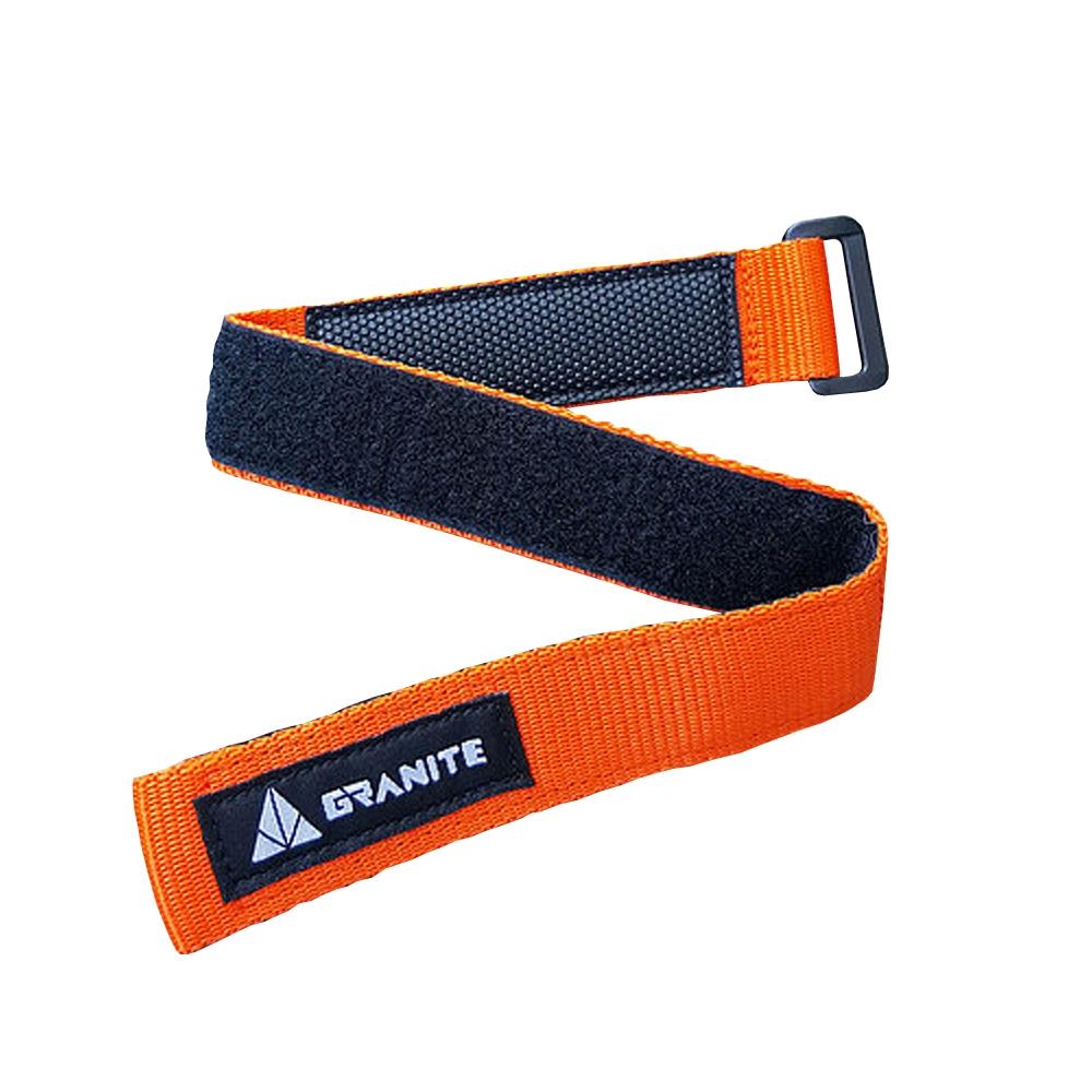straps portacamera rockband arancione per telai mtb Granite kit foratura bici