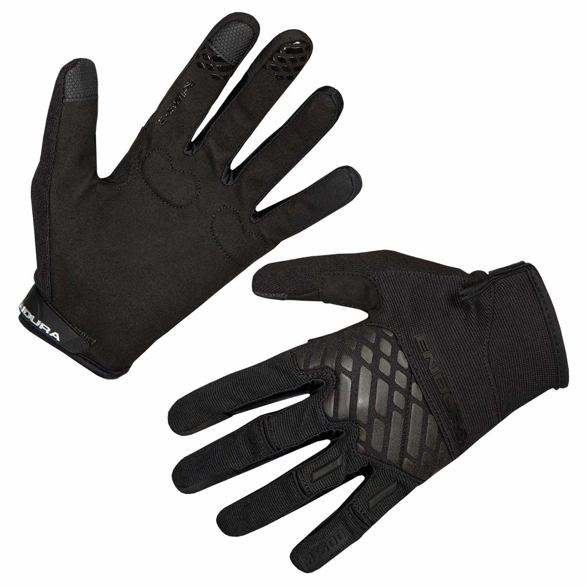 Gloves MT500 glove matt black size S