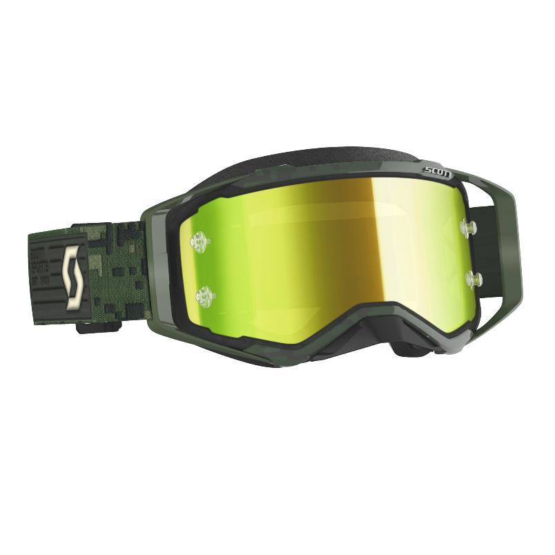Prospect goggle 2021 Kaki Green - Visor Yellow chrome Works