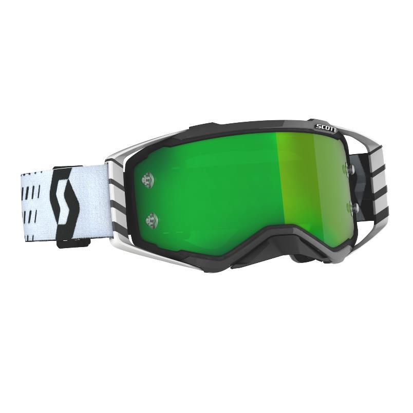 Prospect goggle 2021 Black White - Visor Green chrome Works