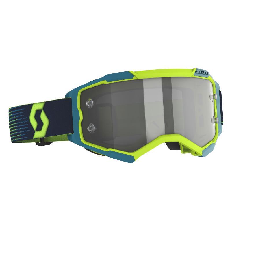 Fury LS goggle yellow / blue