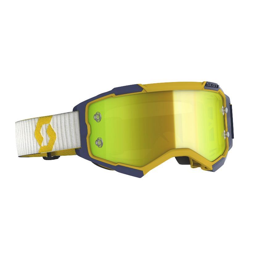 Fury goggle Yellow Blue - Visor Yellow chrome works