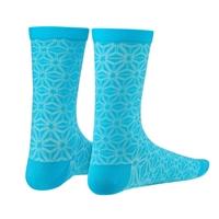 coppia calze supasox asanoha azzurro taglia 38-43 (s/m) azzurro