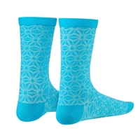 pair socks supasox asanoha light blue size 38-43 (s/m)  light blue