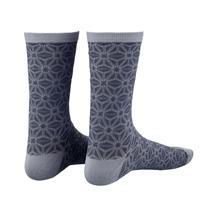 pair socks supasox asanoha grey size 38-43 (s/m) gray