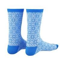 pair socks supasox asanoha blue size 38-43 (s/m) blue