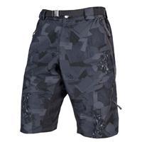 pantaloncini con fondello hummvee short ii grigio camo taglia s grigio