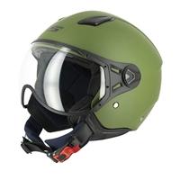 casco jet s779 leov verde visiera corta xs verde