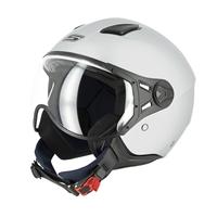 casco jet s779 leov grigio opaco visiera corta xs grigio