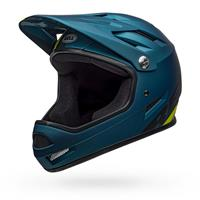 full helmet sanction agility matt blue 2021 size xs (48-51cm) blue