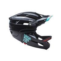 full face helmet gringo de la pampa black size s/m (55-58) black