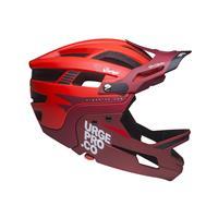 full face helmet gringo de la pampa red size s/m (55-58) red