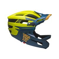 full face helmet gringo de la pampa yellow lime size s/m (55-58) yellow