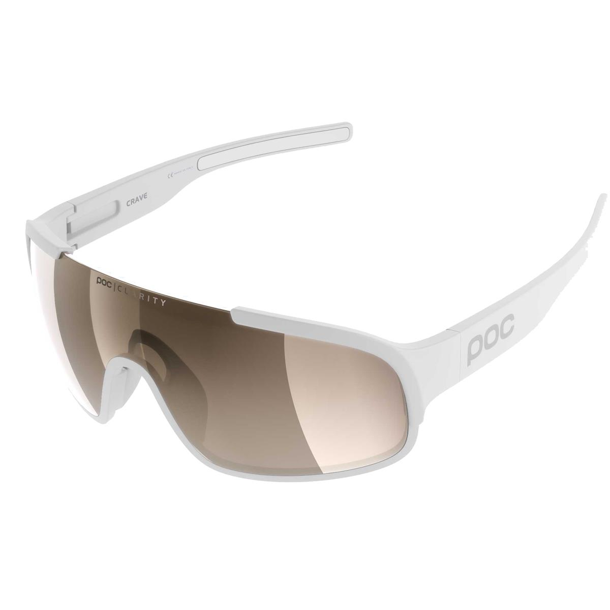 Crave sunglasses white clarity lens Brown