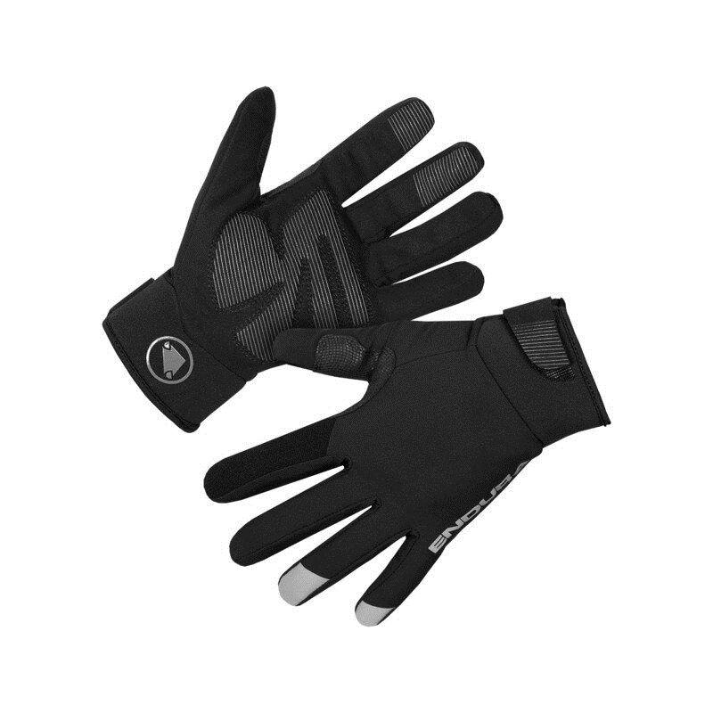 Strike Winter Waterproof Gloves Black Size XS