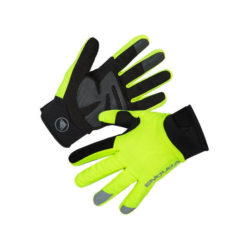 Strike Winter Waterproof Gloves Yellow Size XS