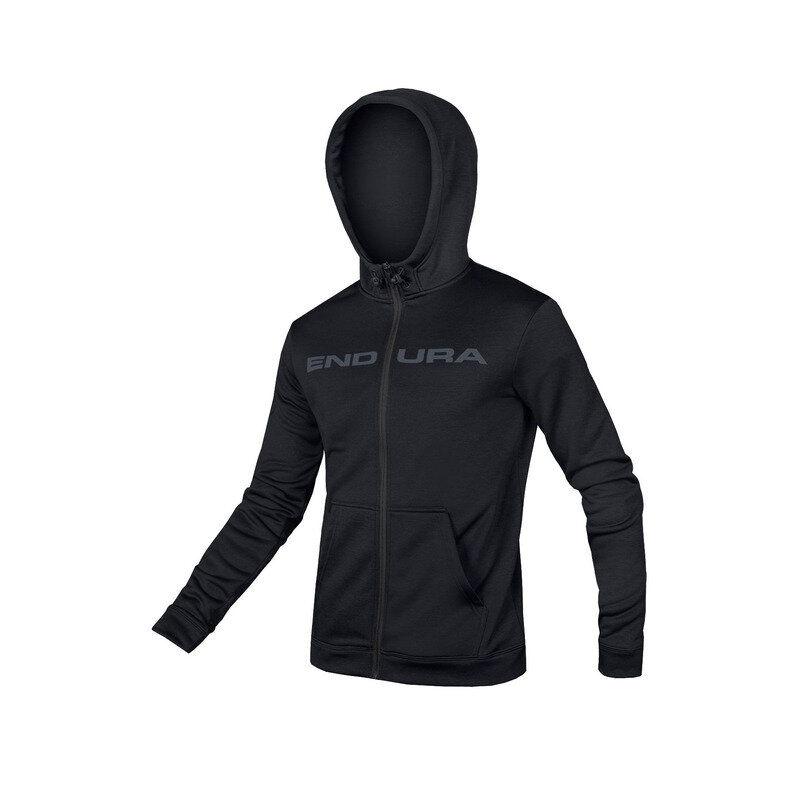 Hummvee Zip Up Hoodie Black Size XS