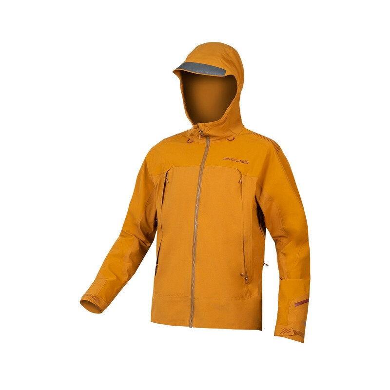 MT500 Waterproof Mtb Jacket II Orange Size XS