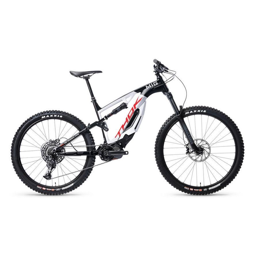 MIG 2.0 29''/27.5'' 150mm 12s 500Wh Shimano E7000 Black/White 2021 Size 40