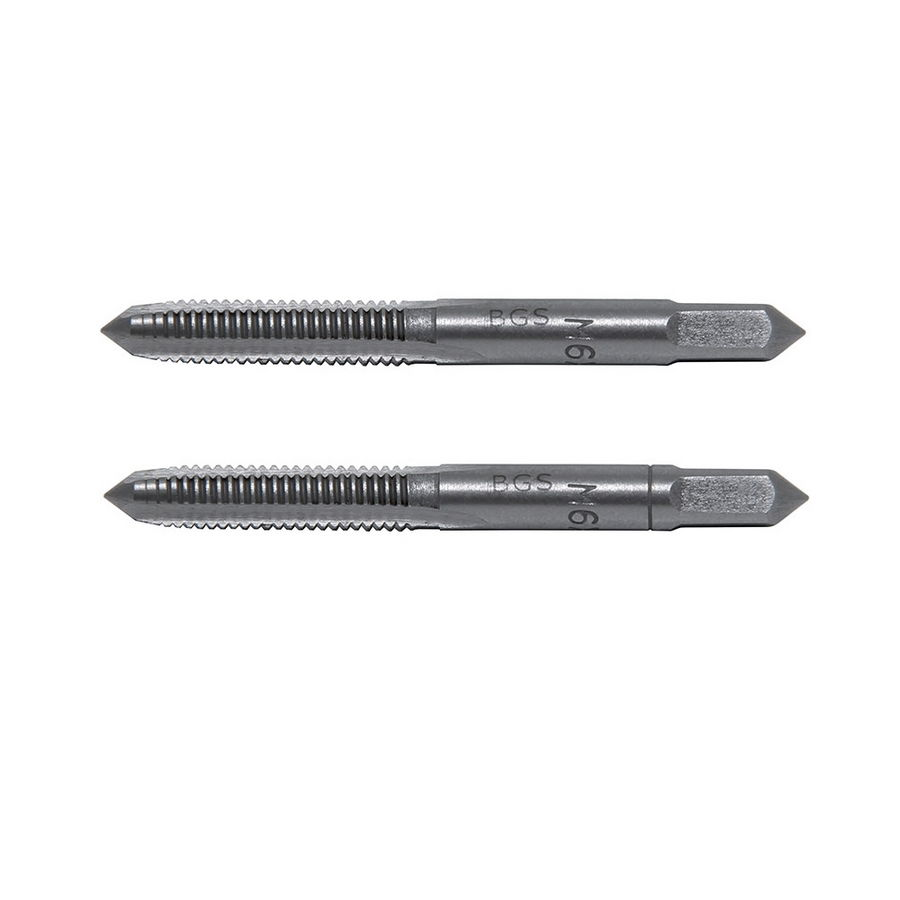 2 pieces kit BGS1900-M10X0.75-B taps by hand