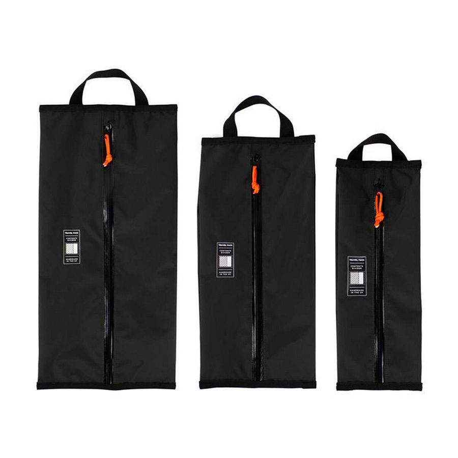 Kit 3 borse restrap travel packs