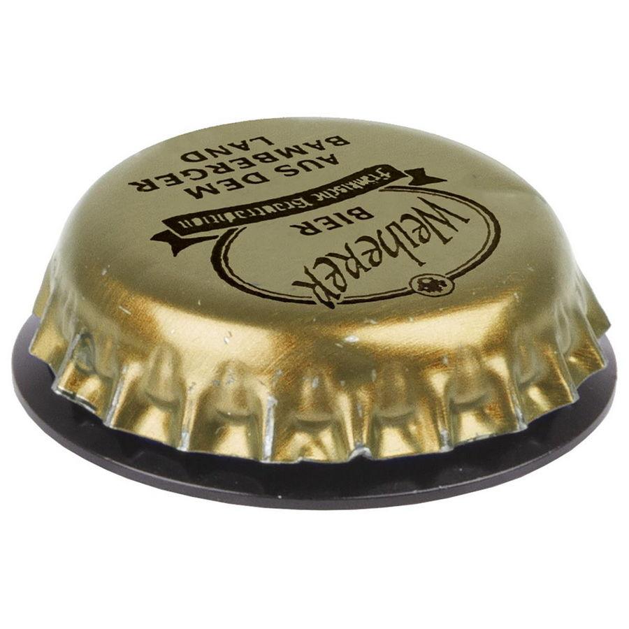 Aluminum steering cap 1-1/8'' with bottle cap magnet
