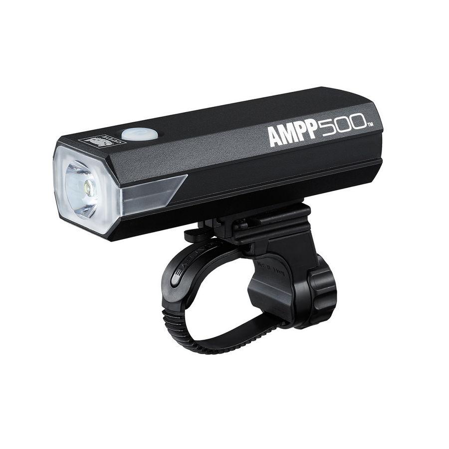 Luce anteriore AMPP500 a led 500 lumens con supporto