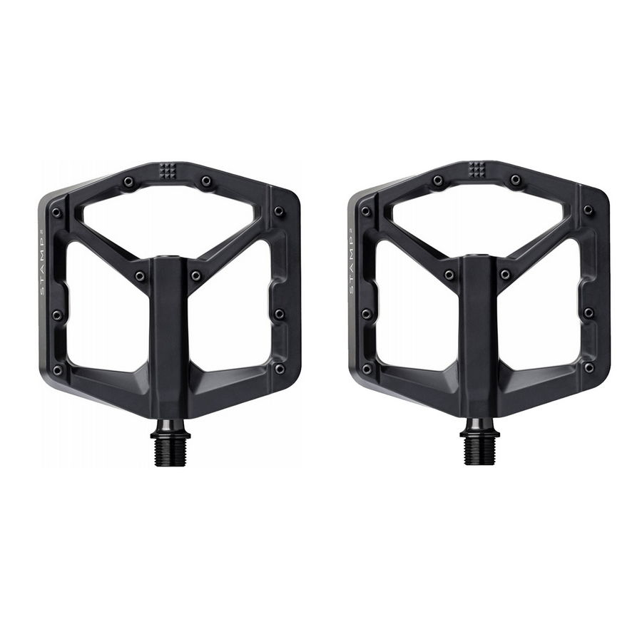 Pair of pedals Stamp 2 Large black for number from 43 to 49