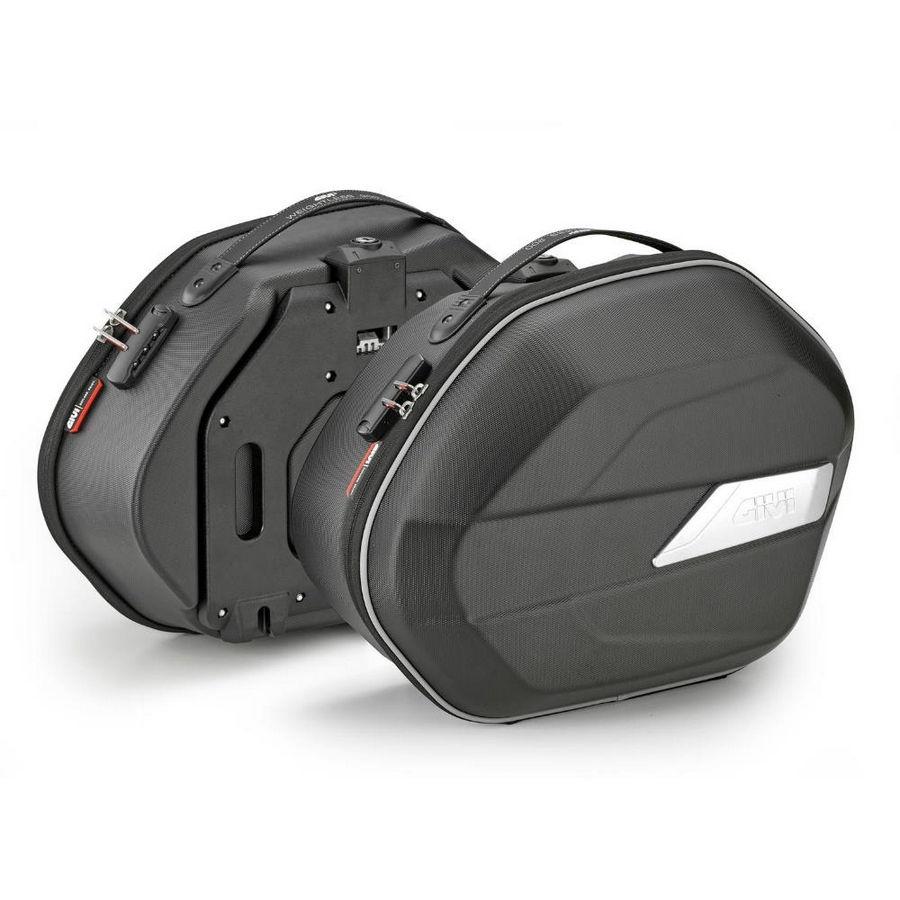 WL900 Weightless - Coppia di borse laterali MONOKEY® semirigide, 25 litri