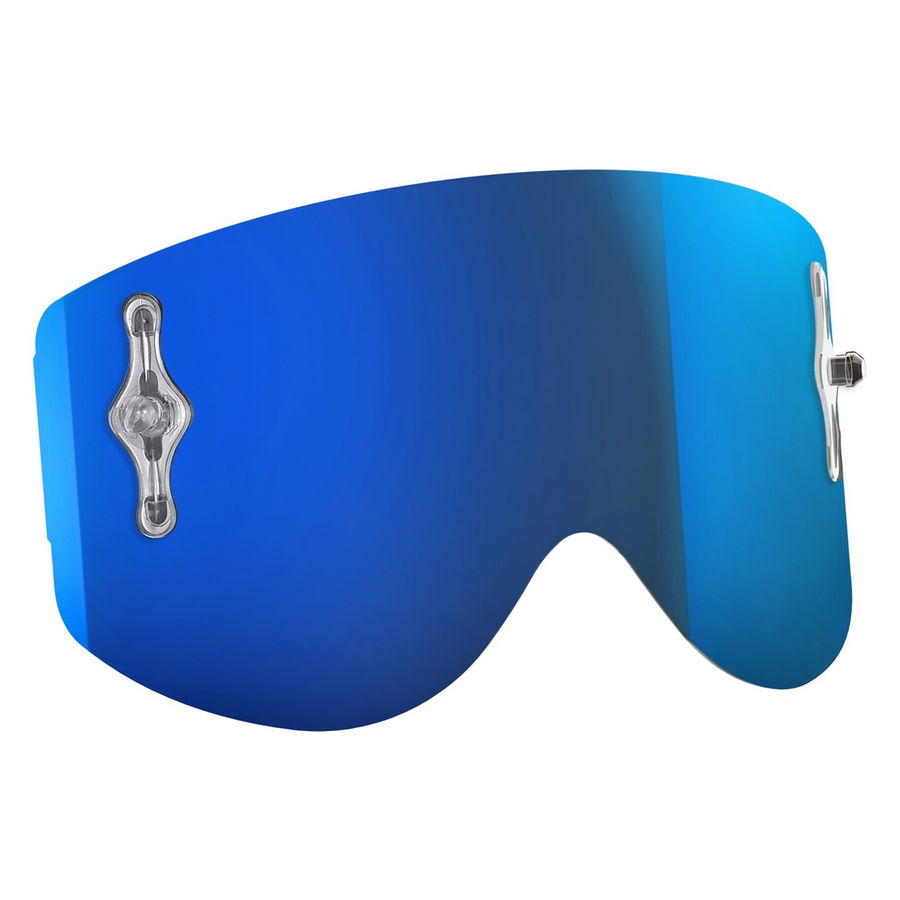 Replacement lens for Recoil XI / 80'S goggles - Electric blue chrome afc  Bike