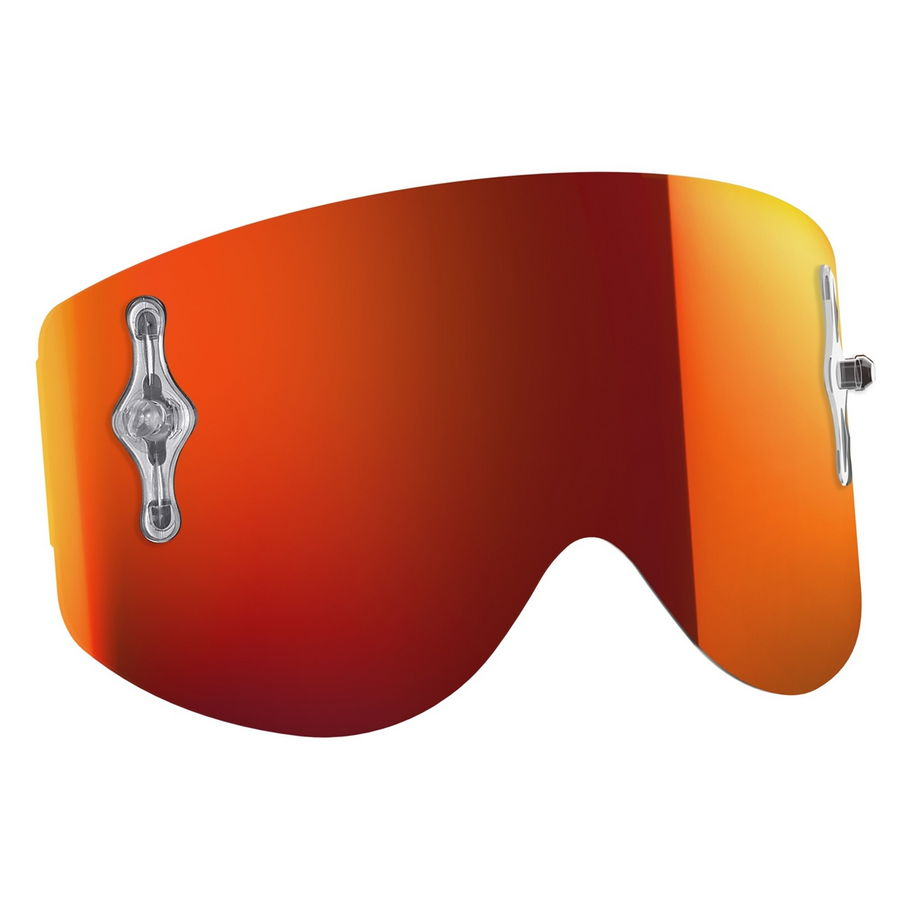 Replacement lens for Recoil XI / 80'S goggles - Orange chrome afc