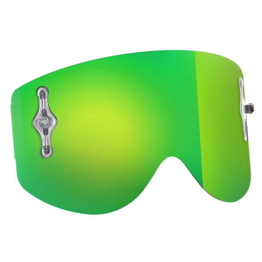 Replacement lens for Recoil XI / 80'S goggles - Green chrome afc